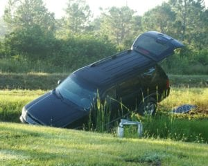 crashed into the ditch summerville